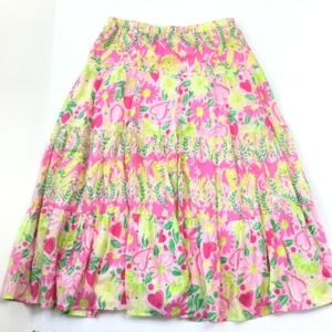Lilly Pulitzer midi skirt